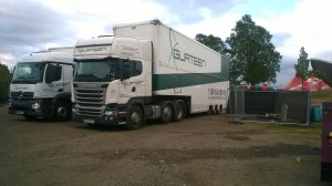 Transport Logistics Lorry
